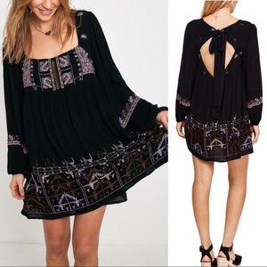 Free People Black Rhiannon Dress Size XS
